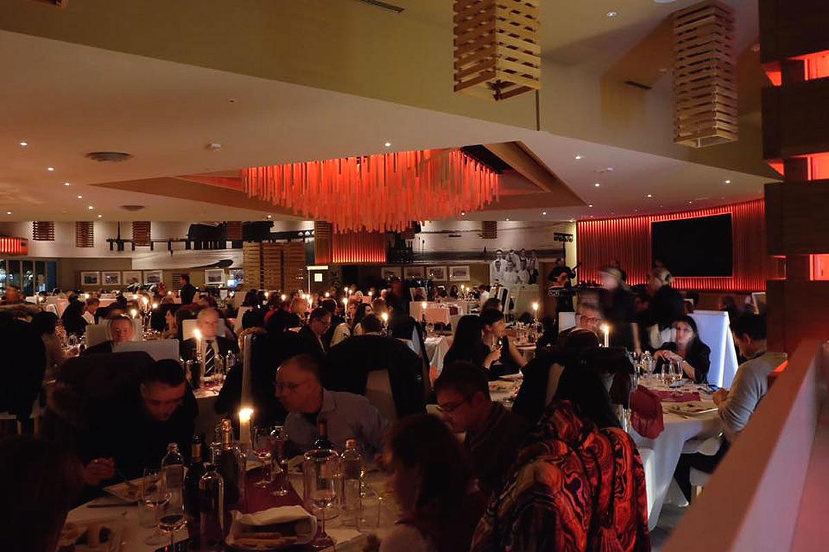 Modernes Lokal und American Bar Terrazza a Mare in Lignano Sabbiadoro