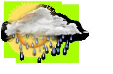 Wechselhalft mit Regen