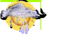 Wechselhaft mit leichten Gewittern
