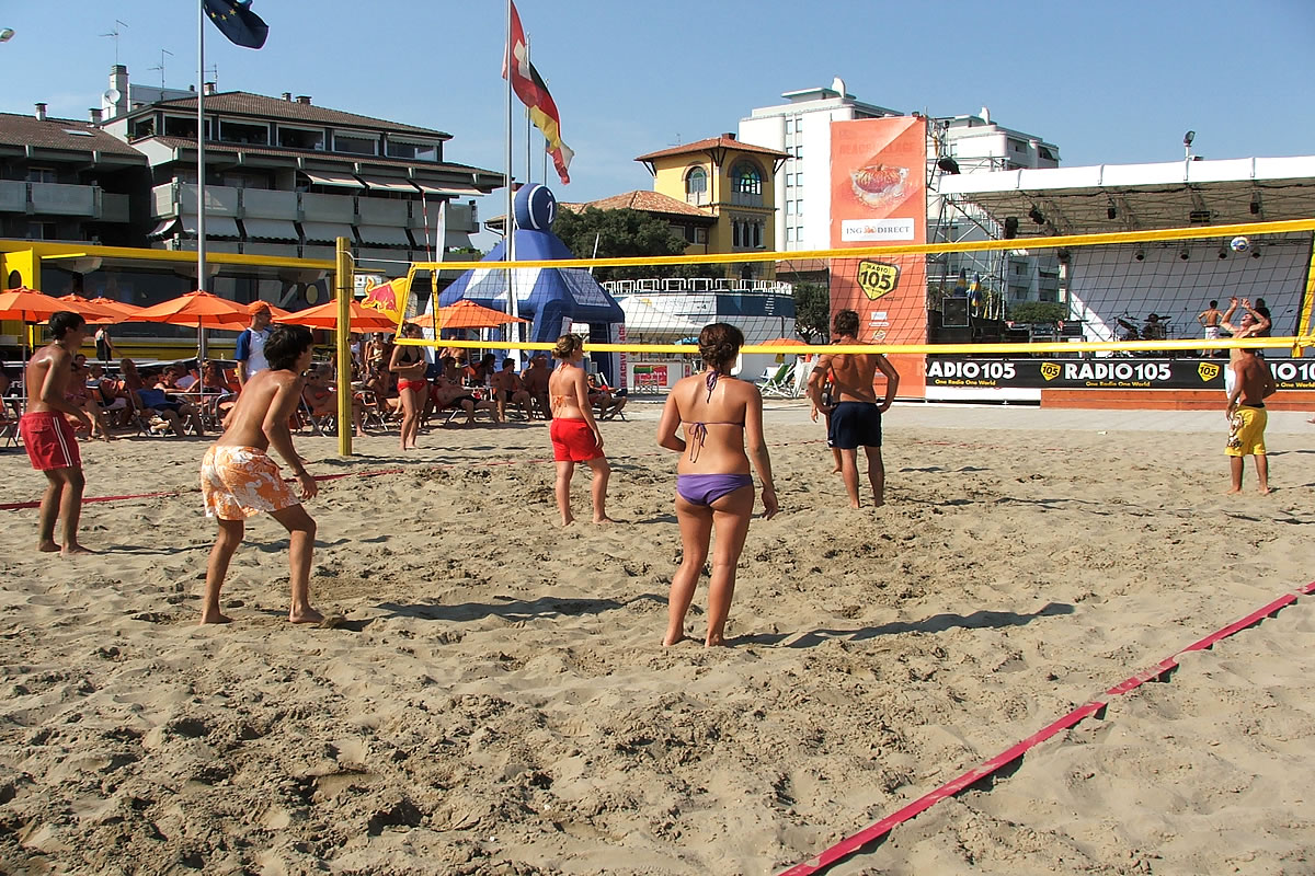 Pl�tze f�r Beachvolleyball
