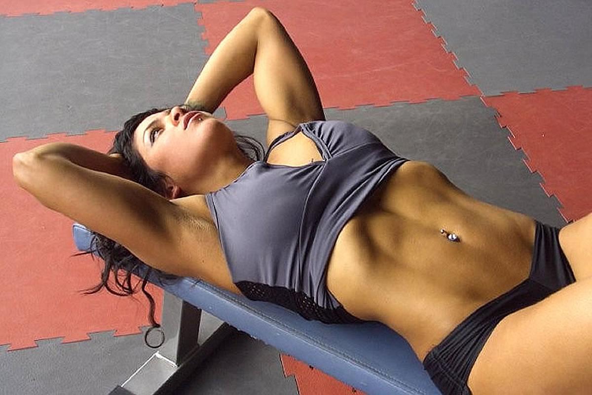 Fitnesstraining im Fitnessclub in Lignano